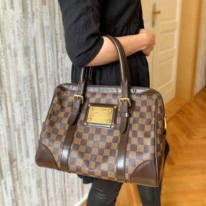 authentic louis Vuitton Berkeley damier ebene bag